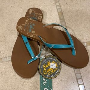 Cobian flip flops